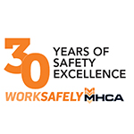 WORKSAFELY 30th logo