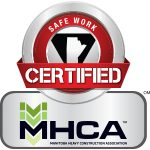 Safe Work certified MHCA Logo