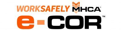 e-COR logo